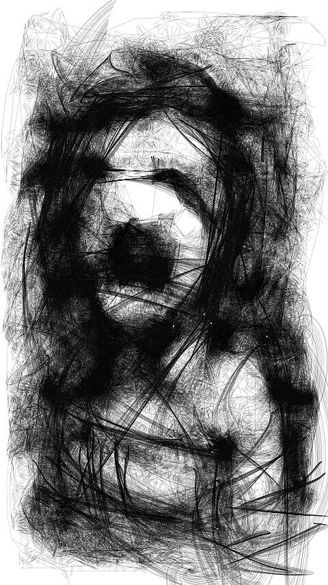 Cell Phone Finger Sketch 02
